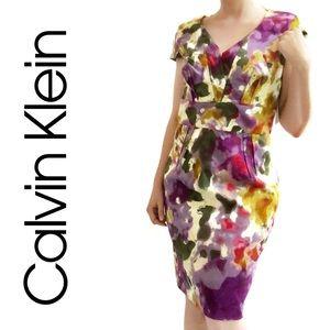 NWT CK Watercolor Dress